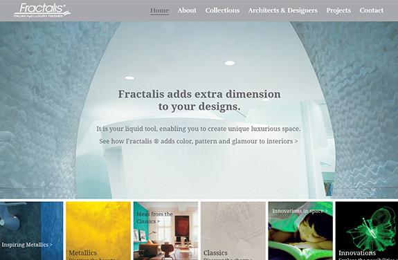 fractalis eco paint finishes