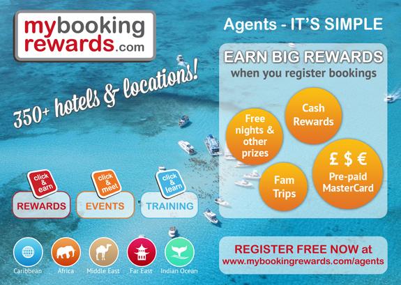 my booking rewards post card