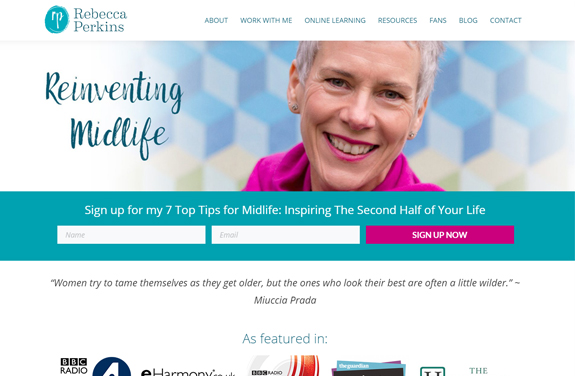 rebecca perkins the midlife coach