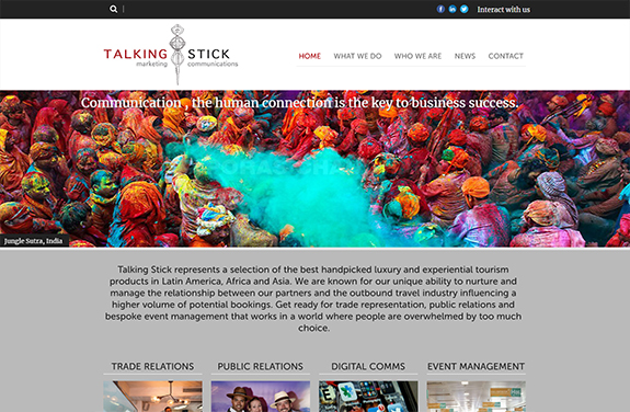talking stick marketing uk travel representation