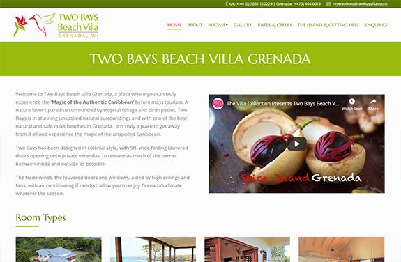 tow bays eco beach villa grenada